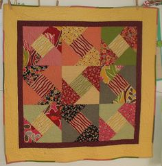 Candy Box Baby Quilt