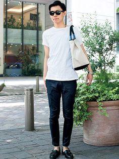 神島 豪さん・東京(会社員/27歳) | メンズファッションの決定版 | MEN'S CLUB(メンズクラブ)
