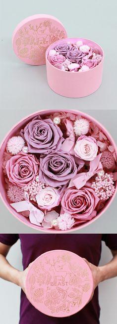 意外之爱(永生花盒)¥560 。图片分享自野兽派花店