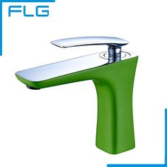 61.10$  Watch here - http://alii9y.worldwells.pw/go.php?t=32712521958 - Brand New Green Painting Basin Faucet Single handle Centerset Mixer Tap Tall Brass Bathroom Faucet