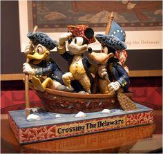 "Amazon.com: ""Unstoppable Heroes"" Mickey Donald Goofy Jim Shore Disney 4004154: Home & Kitchen"