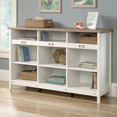 FREE SHIPPING! Shop Wayfair for Andover Mills Storage Credenza 58.19 Bookcase - Great Deals on all Furniture products with the best selection to choose from!