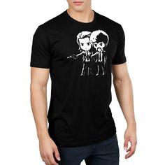 Vincent and Jules Standard T-Shirt Model Pulp Fiction TeeTurtle