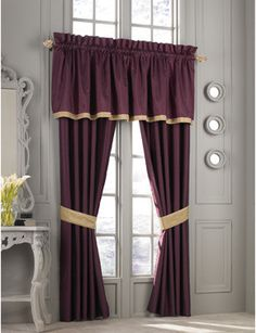 Traditional curtains curtain designs and traditional on pinterest