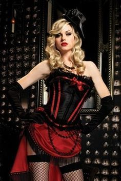 moulin rouge costume I am going to add beads or fringe to the front of my bustle for sure!  sc 1 st  Pinterest & The 64 best dance images on Pinterest | Carnival Burlesque party ...