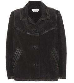 Isabel Marant Étoile Bolton black suede jacket