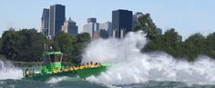 Saute-Mouton - the only wild water on the St Lawrence river is the Lachine Rapids in Montreal.  Take a one hour jet boat ride on the Rapids.