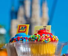 Our rankings of the top cupcakes at Walt Disney World! http://www.disneytouristblog.com/disney-world-cupcakes/