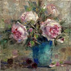 Art Talk - Julie Ford Oliver: Another Peony Painting #3