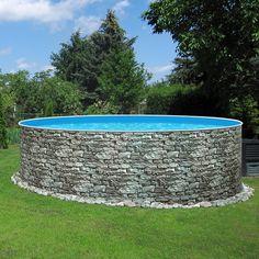 Unsere neuen Stahlwand-Rundpools STONE machen im Garten schon richtig was her ;-) Dennoch müssen Sie dafür nicht mal tief in die Tasche greifen, da Sie dieses Schwimmbecken bereits für unter 400,- EUR Ihr Eigen nennen können.