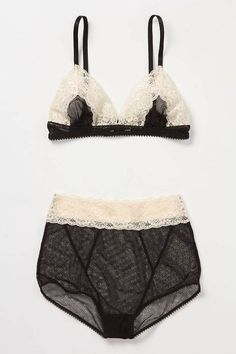 wish I could wear bras like this...they just look so floaty and girly