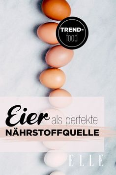 Mehr als Trendfood: Eier als perfekte Nährstoffquelle#foodtrend #ei #nährstoffe #gesundeernährung #ernährung #egg #eiweißquelle #eiweiß #elle Der Arm, Food Trends, Landscaping, Blog, Beauty, Fashion Styles, Sleep Better, Health And Wellness, Healthy Lifestyle