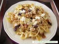 Boomer Real Food Recipes   Chicken Farfalla Pasta   Healthy Eating