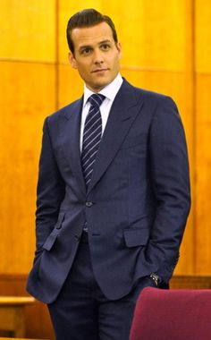Gabriel Macht who stars in a show called SUITS. Mmmmm