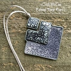"Polymer Clay TV & Polymer Clay Productions: ""Shades of Grey"" Pendant & More"