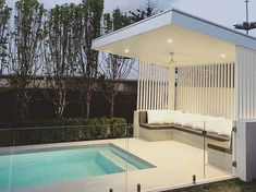 See this Instagram photo by @mon_palmer • 183 likes Outdoor pool inspiration! Bliss #modernpoolideas