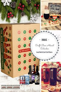 Craft Beer Advent Calendar only £65 featuring local craft beers from North East microbreweries. #craftbeeradvent #craftbeeradventcalendar #beeradventcalendar