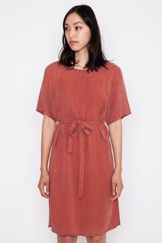 Marsala Red Orion Dress