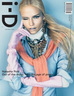 Cover - Best Cover Magazine  - Natasha Poly by Emma Summerton for i-D Magazine October 2008 2   Best Cover Magazine :     – Picture :     – Description  Natasha Poly by Emma Summerton for i-D Magazine October 2008 2  -Read More –