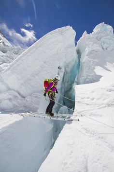 Guide Melissa Arnot on Mt Everest | #LiveYourAdventure