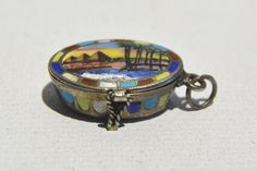 Egyptian Revival Art Deco 1920's Silver & Enamel Moses Basket Pendant | Jewelry & Watches, Vintage & Antique Jewelry, Costume | eBay!