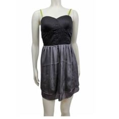 Eloise Anthropologie Sz L Mini Dress NWT Eloise Sz L Black Gray Green Lined Mini Dress NWT Bust 36-38Length-Above the kneesLinedNWT for $68.00 Anthropologie Dresses Mini