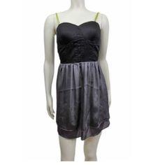 Eloise Anthropologie Sz L Mini Dress NWT Eloise Sz L Black Gray Green Lined Mini Dress NWT Bust 36-38Length-Above the kneesLinedNWT for $68.00 Anthropologie Dresses Mini