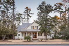 Beautiful Two-Story Home in Palmetto Bluff | Vacation Real Estate Bluffton, South Carolina | Spacious Front Porch