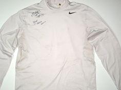 519204b2b8 Darrel Young Game Worn & Signed Washington Redskins Nike Dri-Fit XL  Turtleneck
