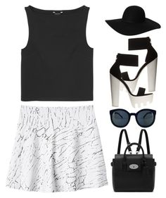 """""""#886"""" by anna-annita ❤ liked on Polyvore featuring Monki, Charlotte Russe and Mulberry"""