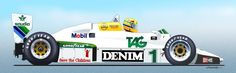 Pedal do Kusma: Os carros que Ayrton Senna pilotou na Fórmula 1 - 01° Willians FW08C