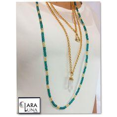 Necklace #Claralunastore cuarzos