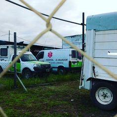 #YA Que hace una ambulancia de #BellaVista hace mas de 2 meses en un taller de Felix de Azara y Armenia #Corrientes #imagenprimeroya
