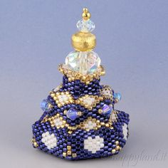 Beaded box n.8 by Happyland87 on Etsy
