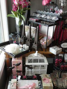 Paris in Spring for Elegant Expressions by Flourish Design & Merchandising    retail, visual merchandising, store design
