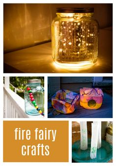 Fire fairies are all about light. We've rounded up four different light related crafts to help you play with the fire fairies. Summer Crafts, Crafts For Kids, Sparkle Stories, Sparkle Crafts, Fire Fairy, Fairy Crafts, Different Light, Sparkles, Fairies