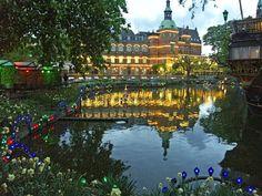 Tivoli Gardens, Copenhagen..Really pretty...I WANNA GO!!