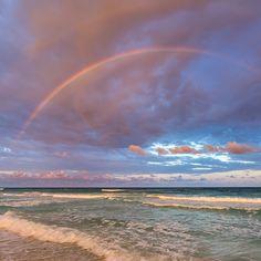 2017-03 Double rainbow at sunset Tulum Mexico . . . . #toptravelspot #rainbow #doublerainbow #tropics #waves  #tulum #mexico  #tulummexico #tulumbeach #tulum#water #wave #sea #locationindependent #travel #traveling #instantraveling #instatraveling #travelphotography #sonyalpha