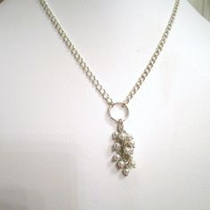 Saw something similar, but prettier, than this today.  Really like it!  I think the one I saw was silver though.