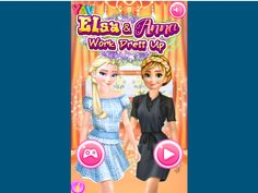 ELSA AND ANNA WORK DRESS UP  http://playfrozengames.com/frozen-games/-elsa-and-anna-work-dress-up