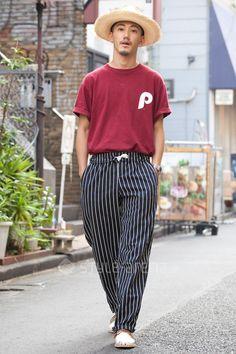 Shoooyan | M.V.P. × MAJESTIC RED KAP SANFRANCISCO HAT ROLEX CHAMULA | 2nd week Jul. 2016 | Harajuku | Tokyo Street Style | TOKYO STREET FASHION NEWS | style-arena.jp