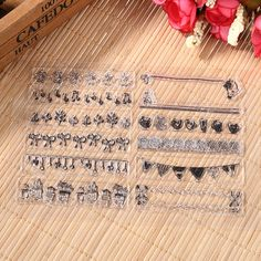 Transparent Handworking DIY Silicone Stamps Seal Stamp Creative Patterns Stamping Tool #Affiliate