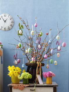 easter egg tree osterstrauss hoppy easter easter eggs easter tree easter bunny