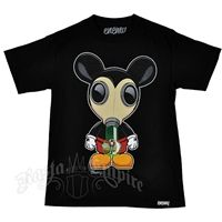 Mickey Bong Mask Black T-Shirt – Men's