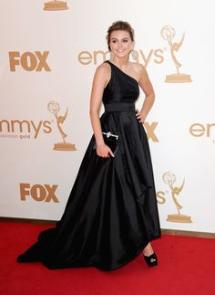 Aimee Teegarden arrives at the 63rd Annual Primetime Emmy Awards held at Nokia Theatre L.A. LIVE on September 18, 2011 in Los Angeles, California. - 63rd Annual Primetime Emmy Awards - Arrivals