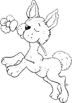Little Easter 2013 - Little Hoppy With Buttercup