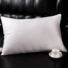 These silk filled pillows are the finest and perfect solution for the ultimate night's sleep.