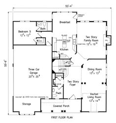Kingsgate - Home Plans and House Plans by Frank Betz Associates
