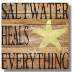 Saltwater Heals Everything! - The Hawaiian Home