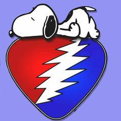 Grateful Dead Snoopy